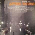 THE PRESTIGE ALL STARS Thad Jones / Kenny Burrell / Frank Wess / Mal Waldron / Paul Chambers / Arthur Taylor : After Hours album cover