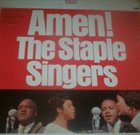 THE STAPLE SINGERS / THE STAPLES Amen! album cover