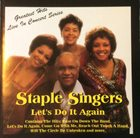 THE STAPLE SINGERS / THE STAPLES Let's Do It Again album cover