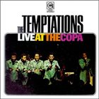 THE TEMPTATIONS Live At The Copa album cover