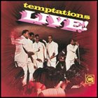 THE TEMPTATIONS Temptations Live! album cover
