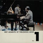 THELONIOUS MONK Best Moments Of Thelonious Monk Part 1 album cover