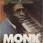 THELONIOUS MONK Live At The It Club album cover