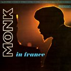 THELONIOUS MONK Monk In France album cover