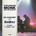 THELONIOUS MONK En Concert Avec Europe 1 Olympia 6-7 Mars 1965 (aka Paris Jazz Concert, Vol. 1 ak Olympia 7 Mars 1965 aka Monk In Paris: Live At The Olympia) album cover