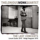 THELONIOUS MONK The Last Concerts album cover