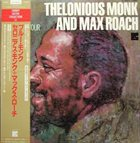 THELONIOUS MONK Thelonious Monk and Max Roach - European Tour album cover