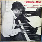 THELONIOUS MONK Thelonious Monk Plays album cover