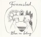 THOMAS FONNESBÆK Where We Belong album cover