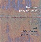TIM PFAU New Horizons album cover