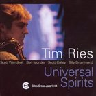 TIM RIES Universal Spirits album cover