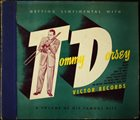 TOMMY DORSEY & HIS ORCHESTRA Getting Sentimental With Tommy Dorsey (A Volume of His Famous Hits) album cover