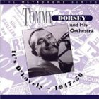 TOMMY DORSEY & HIS ORCHESTRA It's D'Lovely ~ 1947~50 album cover