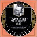 TOMMY DORSEY & HIS ORCHESTRA The Chronological Classics: Tommy Dorsey and His Orchestra 1937 album cover