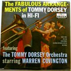 TOMMY DORSEY & HIS ORCHESTRA The Fabulous Arrangements of Tommy Dorsey in Hi-Fi album cover