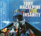 TONY MACALPINE Live Insanity album cover