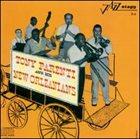 TONY PARENTI Tony Parenti And His New Orleanians album cover