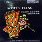 TONY SCOTT Scott's Fling album cover