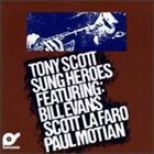 TONY SCOTT Sung Heroes album cover