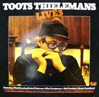 TOOTS THIELEMANS Live 3 album cover
