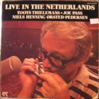 TOOTS THIELEMANS Live in the Netherlands album cover