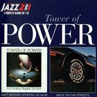 TOWER OF POWER Ain't Nothin' Stoppin' Us Now / Back on the Streets album cover