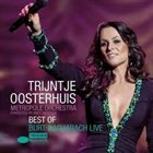 TRIJNTJE OOSTERHUIS Best Of Burt Bacharach Live (with Metropole Orchestra Conducted By Vince Mendoza) album cover