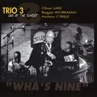 TRIO 3 Wha's Nine - Live At The Sunset album cover