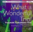 TSUYOSHI YAMAMOTO What a Wonderful Trio! album cover