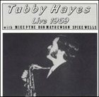 TUBBY HAYES Live 1969 album cover