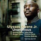 ULYSSES OWENS JR Unanimous album cover