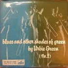 URBIE GREEN Blues And Other Shades Of Green (No.2) album cover
