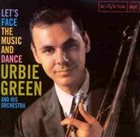 URBIE GREEN Let's Face the Music and Dance album cover