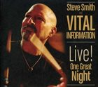 VITAL INFORMATION Live! One Great Night album cover