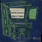 WALLY ROSE Ragtime Classics album cover