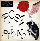 WALLY ROSE Rose on Piano (Jazz From San Francisco Series, Vol. 1) album cover