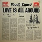 WAR War Featuring Eric Burdon : Love Is All Around album cover