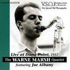 WARNE MARSH Live at Dana Point 1957 album cover