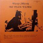 WARNE MARSH Ne Plus Ultra album cover
