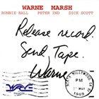WARNE MARSH Release Record, Send Tape album cover