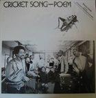 WARREN SMITH Cricket Song-Poem album cover