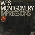 WES MONTGOMERY Impressions album cover