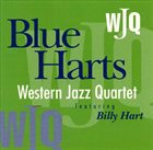 WESTERN JAZZ QUARTET Blue Harts album cover