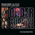 WILLIAM PARKER William Parker & In Order To Survive : Live/Shapeshifter album cover