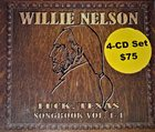 WILLIE NELSON Luck, Texas Songbook Vol.1-4 album cover