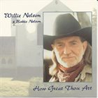 WILLIE NELSON Willie Nelson & Bobbie Nelson ‎: How Great Thou Art album cover