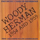 WOODY HERMAN 1954 And 1959 album cover