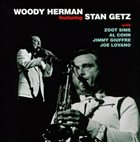WOODY HERMAN Featuring Stan Getz album cover