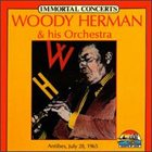 WOODY HERMAN Immortal Concerts album cover