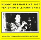 WOODY HERMAN Live Featuring Bill Harris Vol. 2 album cover